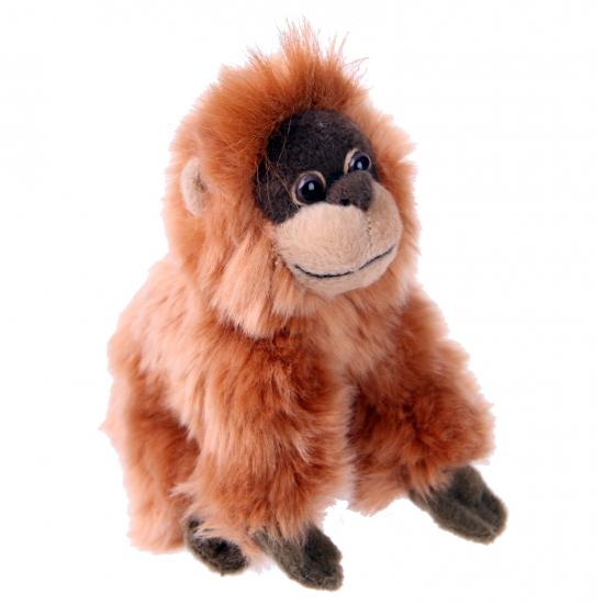 Pluche knuffel Orangoetan 13 cm