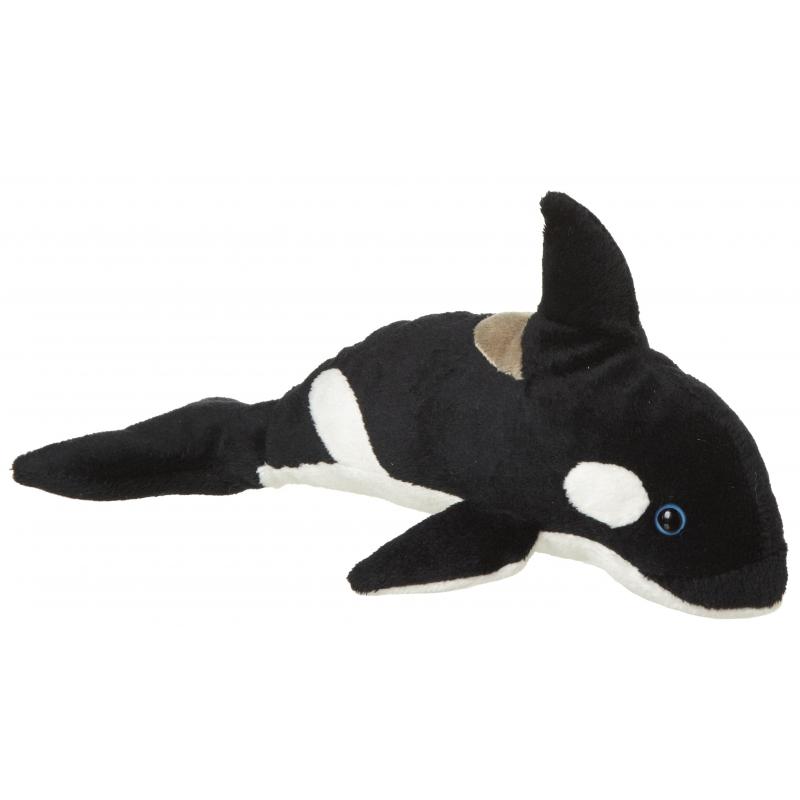 Pluche knuffel orka walvis van 25 cm