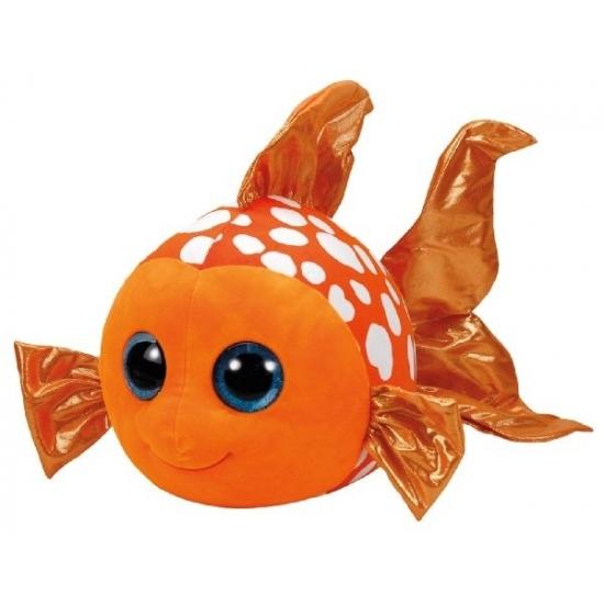 Pluche knuffel Ty Beanie goudvis Sami 42 cm