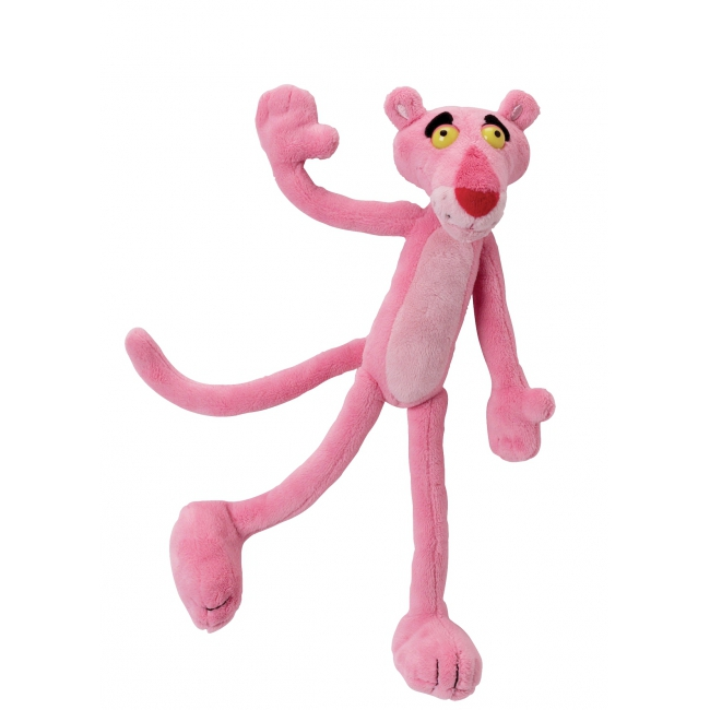 Pluche knuffels Pink Panther 22 cm