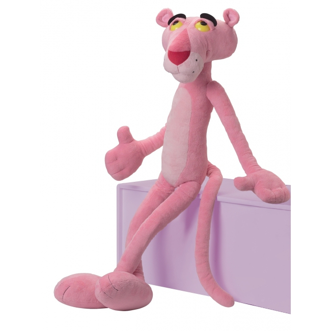 Pluche knuffels Pink Panther 85 cm