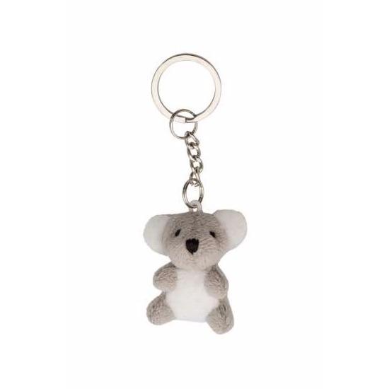 Pluche koala sleutelhanger 6 cm