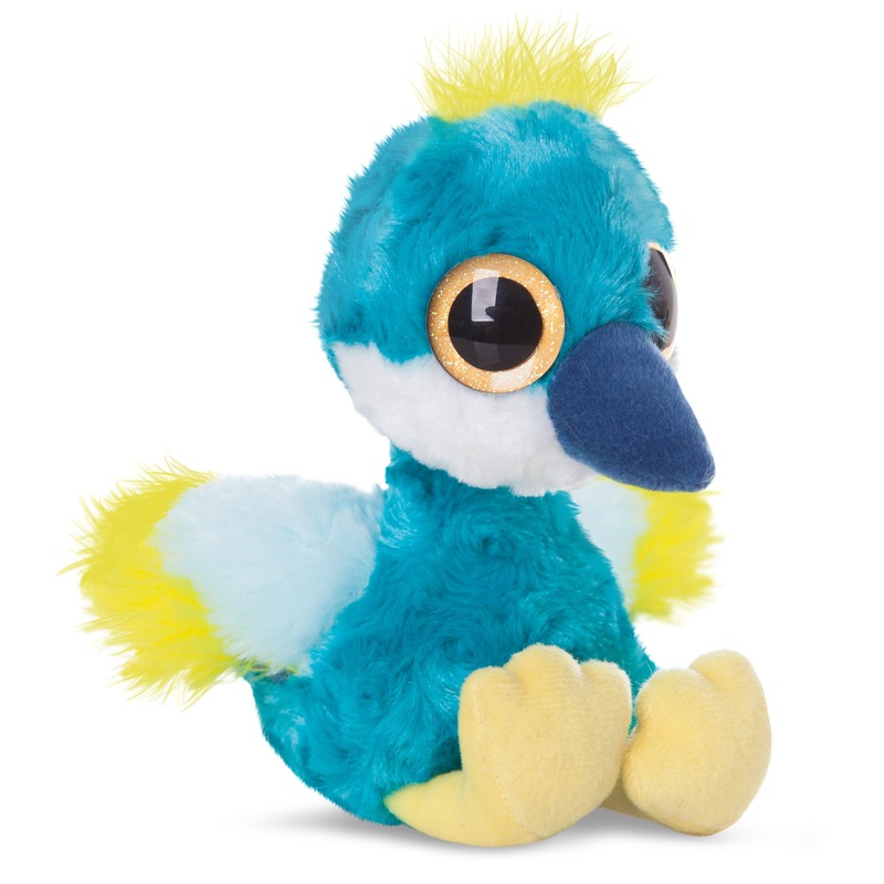 Pluche kraanvogel knuffel 20 cm