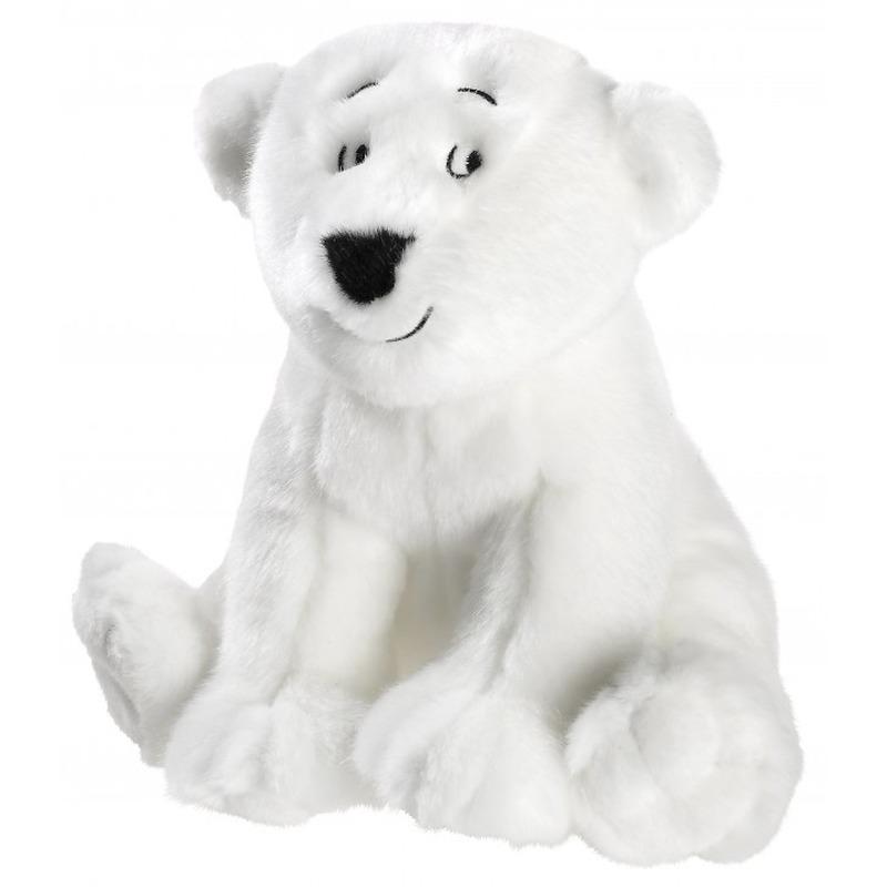 Pluche Lars de kleine ijsbeer/beren knuffel 25 cm speelgoed