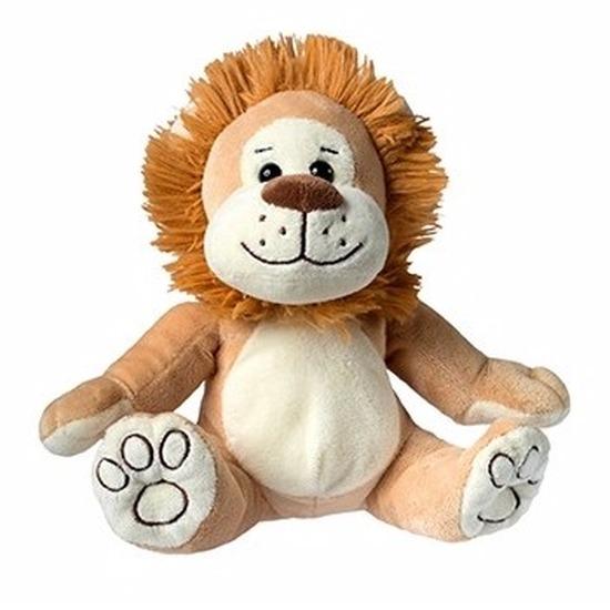 Pluche leeuw knuffel 21 cm