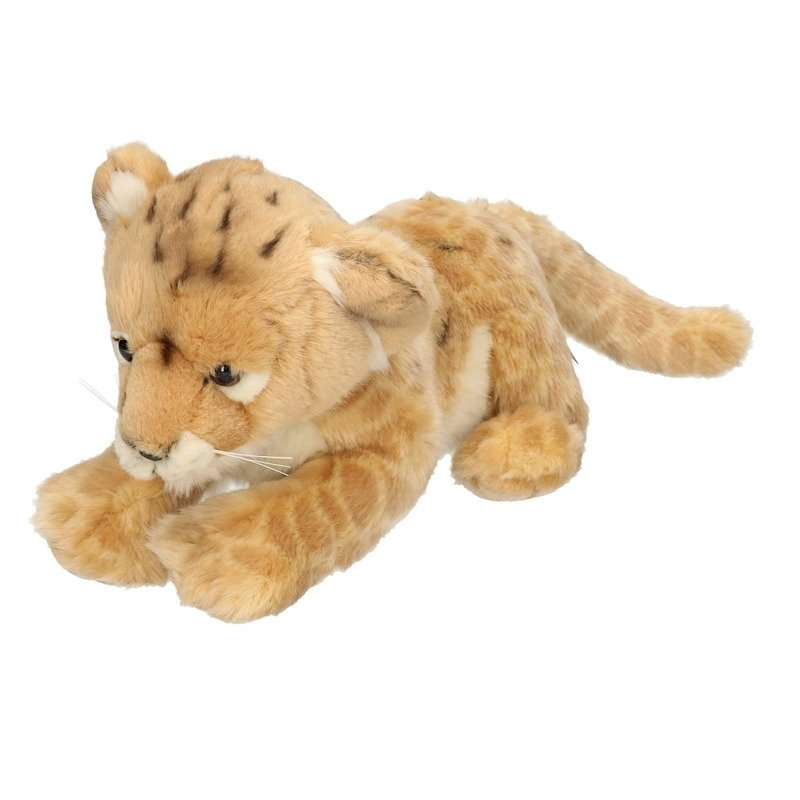Pluche leeuwen welpje knuffel 32 cm