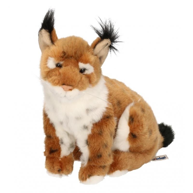 Pluche lynx 25 cm