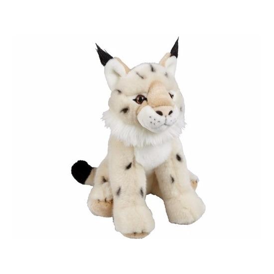 Pluche lynx knuffel zittend 30 cm