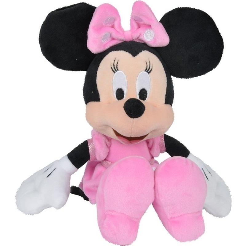 Pluche Minnie Mouse knuffel 25 cm Disney speelgoed