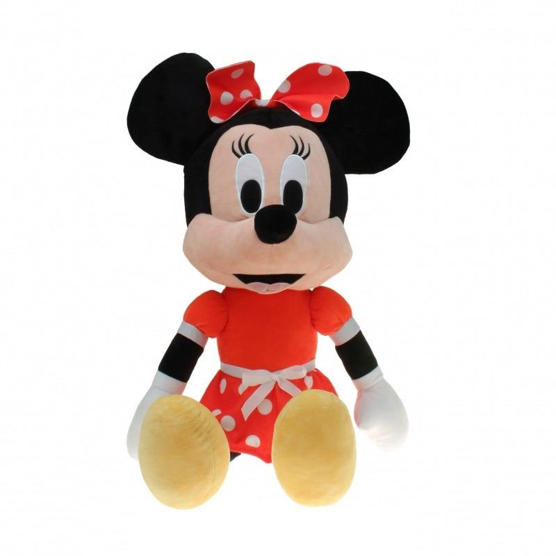 Pluche Minnie Mouse knuffel 80 cm