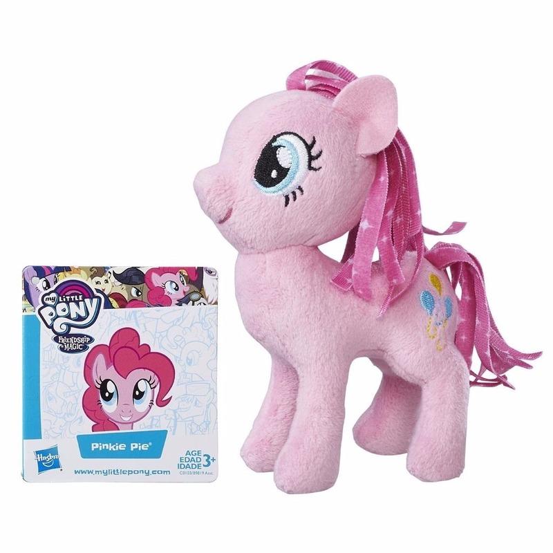 Pluche My Little Pony knuffel Pinkie Pie 13 cm