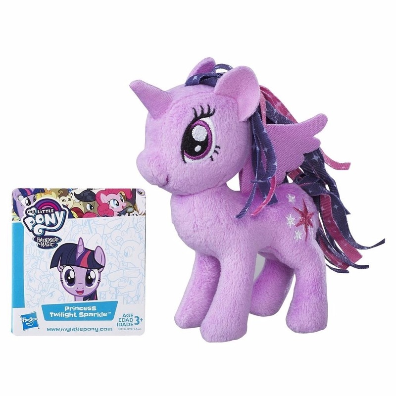 Pluche My Little Pony knuffel Twilight Sparkle 13 cm
