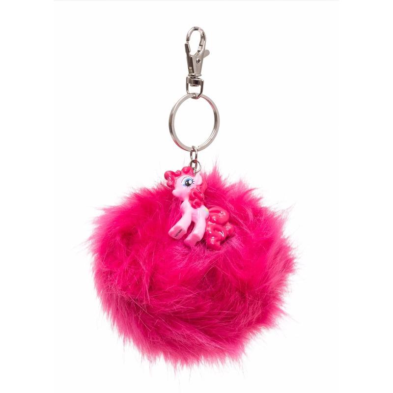 Pluche My Little Pony sleutelhanger Pinkie Pie 7 cm