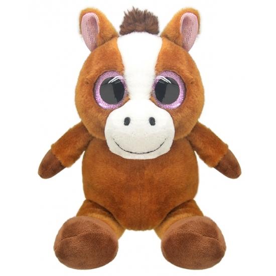 Dieren knuffels Geen Pluche paard knuffel 16 cm
