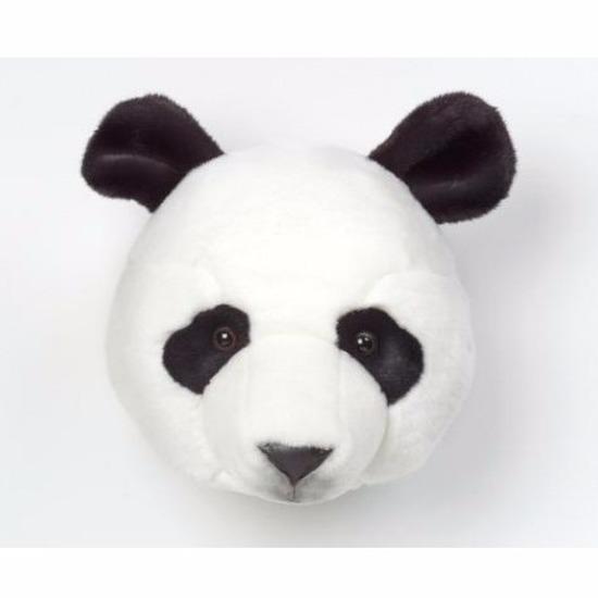 Pluche panda kop