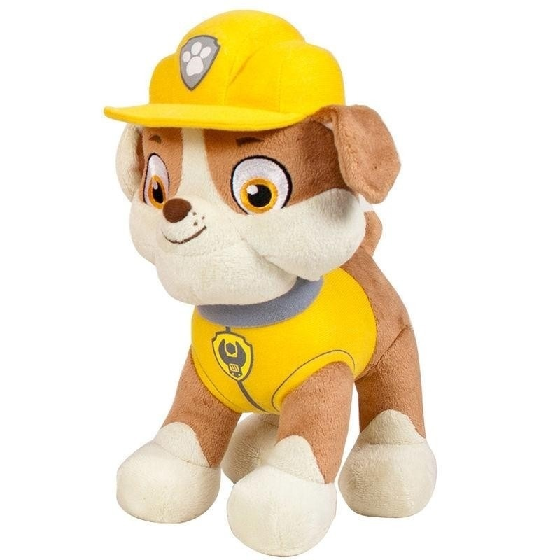 Pluche Paw Patrol Rubble knuffel 19 cm speelgoed