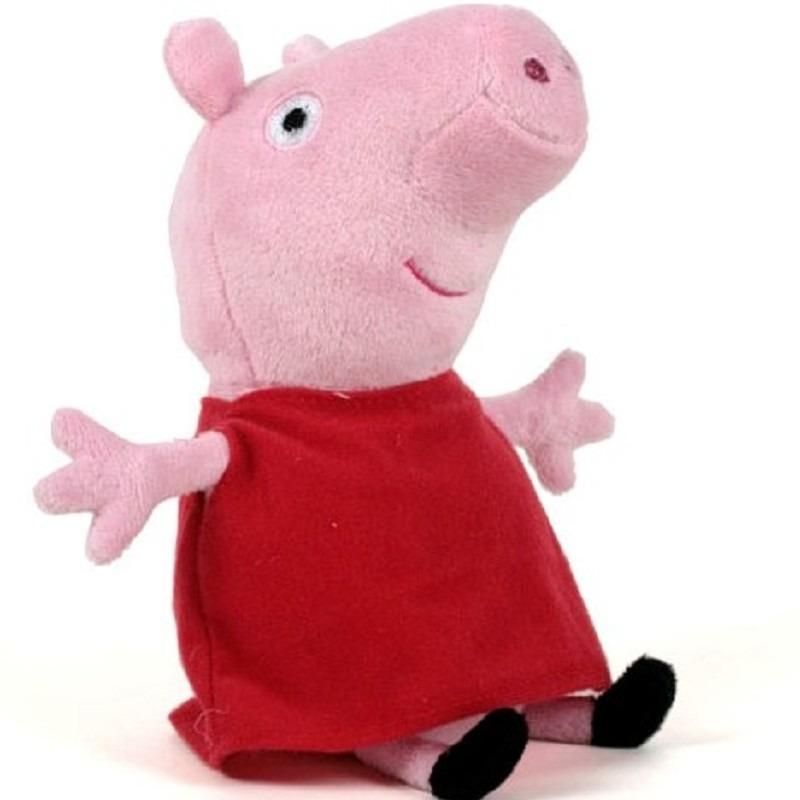 Pluche Peppa Pig/Big knuffel 28 cm speelgoed