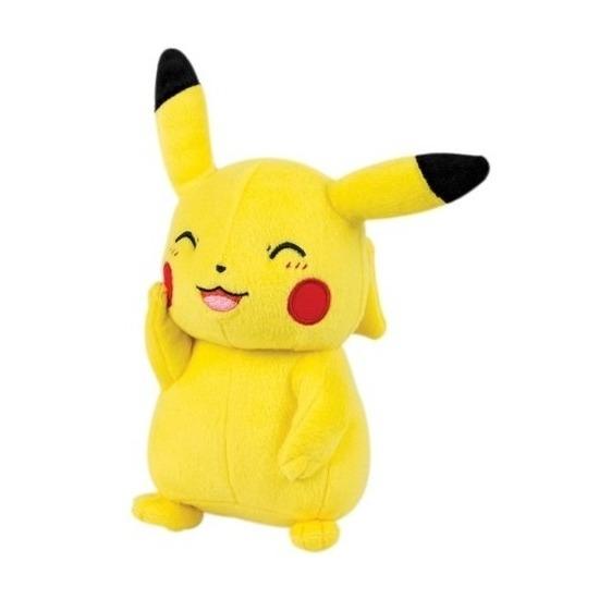 Pluche Pikachu knipoog knuffel 20 cm speelgoed