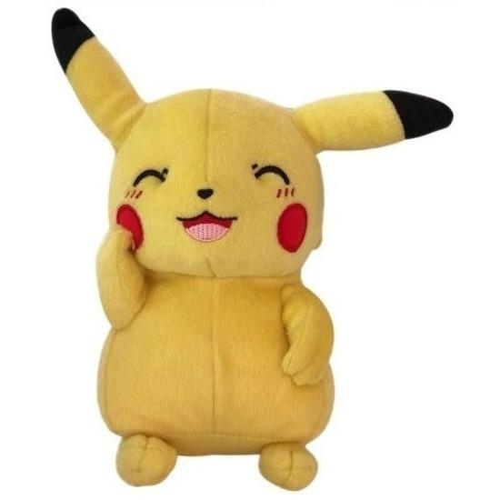 Pluche Pikachu knipoog knuffel 30 cm speelgoed