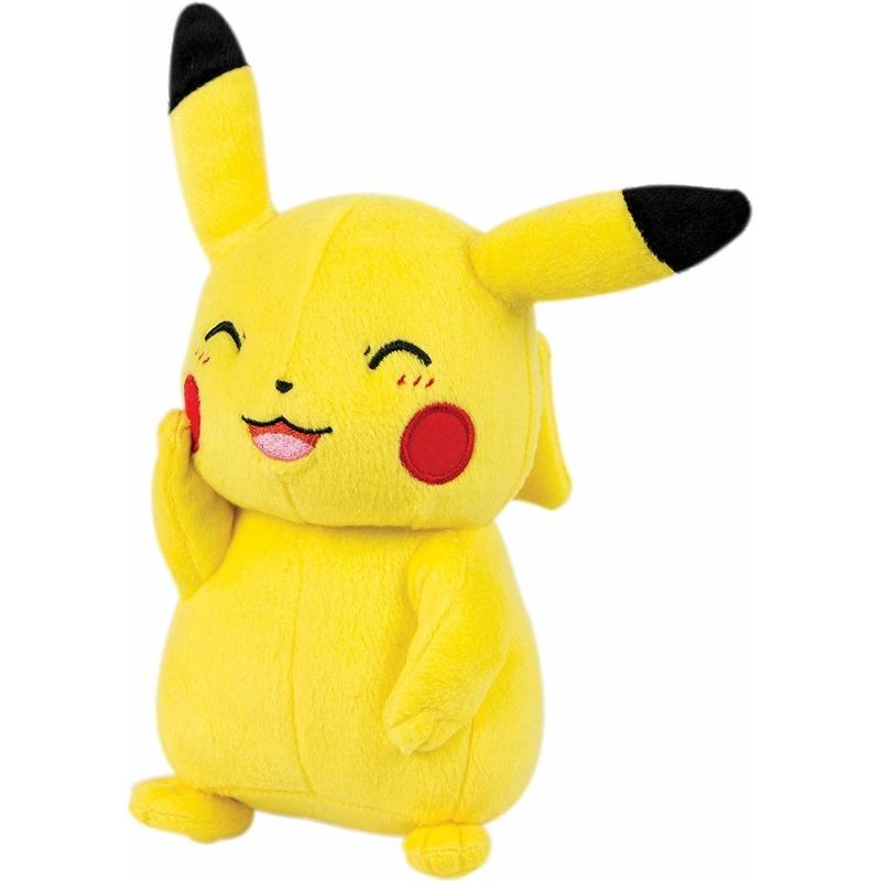 Pluche Pokemon Pikachu knuffel 39 cm speelgoed