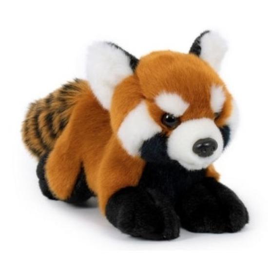 Pluche rode panda/beren knuffel 20 cm speelgoed