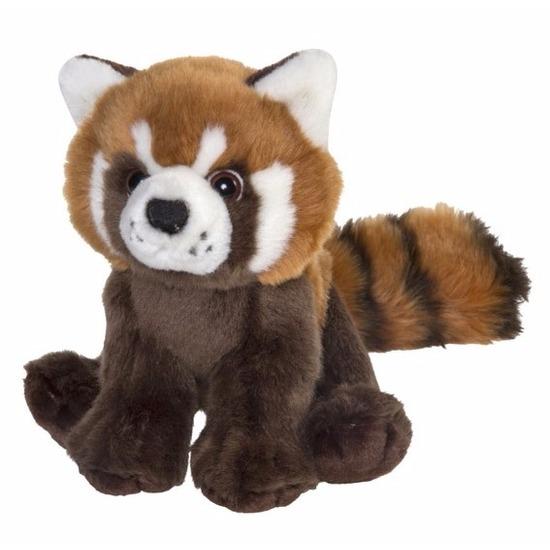 Pluche rode panda knuffeldieren 18 cm
