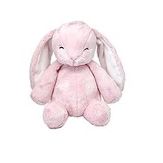 Pluche roze konijn knuffel 28 cm baby speelgoed