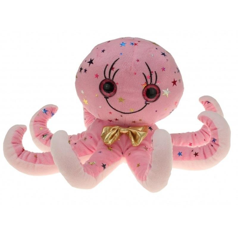 Pluche roze octopus/inktvis knuffel 40 cm