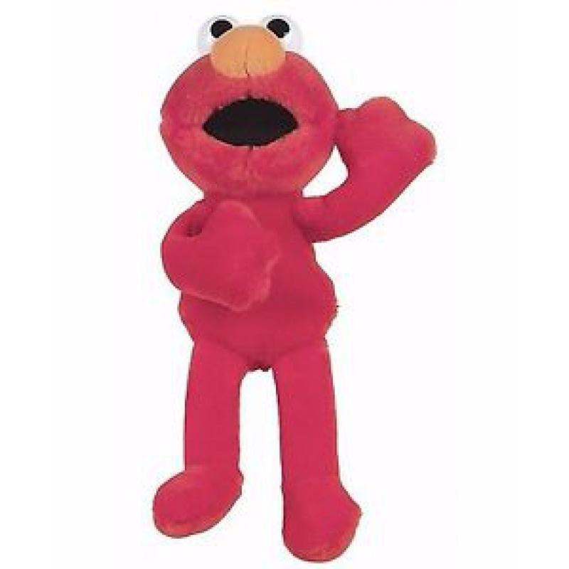 Pluche Sesamstraat Elmo knuffel 24 cm