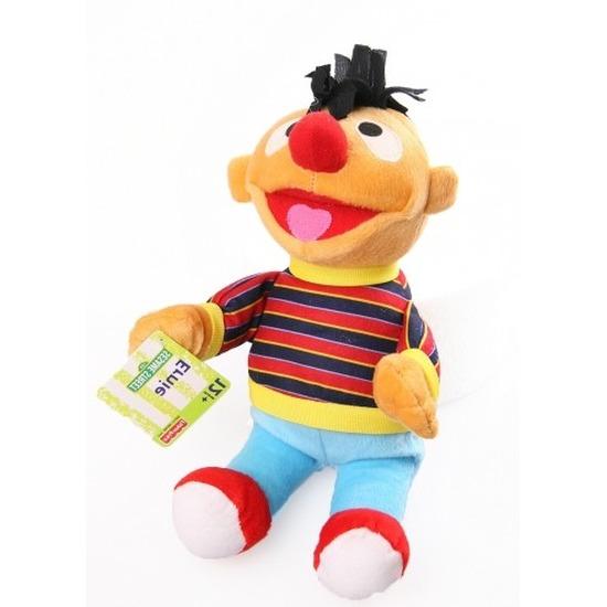 Pluche Sesamstraat knuffel Ernie 28 cm