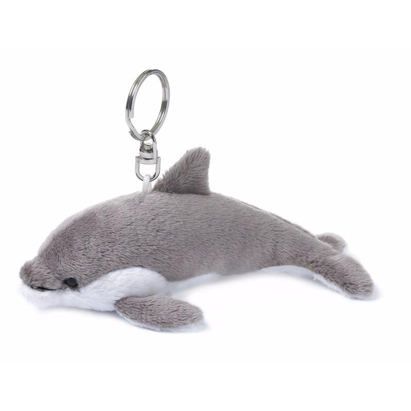 Pluche sleutelhangers dolfijnen
