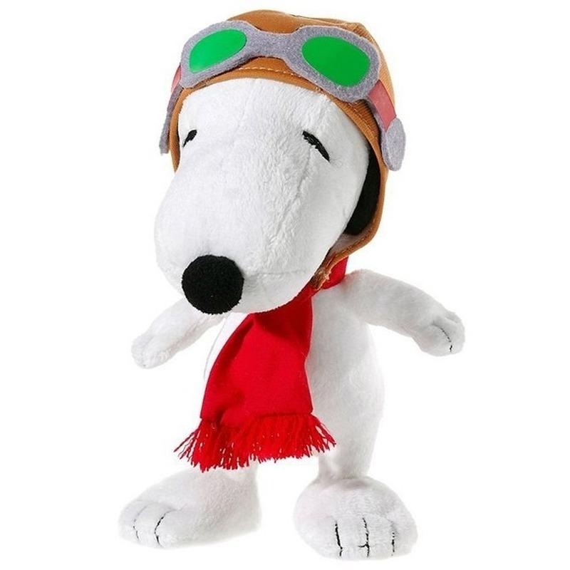 Pluche Snoopy knuffel Flying Ace 18 cm