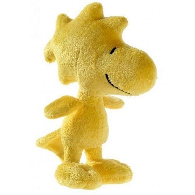 Pluche Snoopy knuffel Woodstock 17 cm