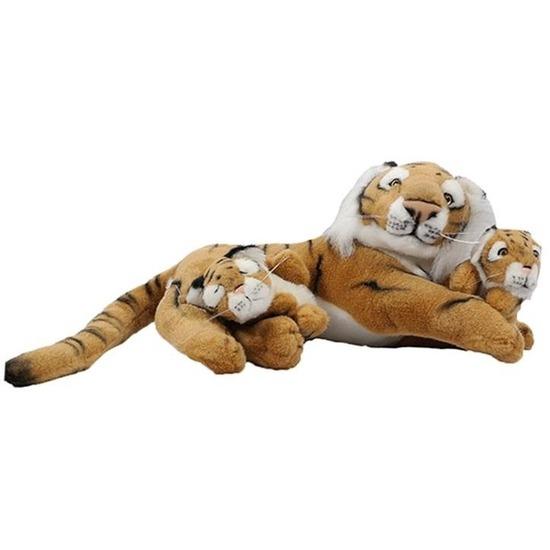 Pluche tijger knuffel 46 cm