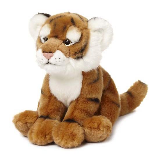 Pluche tijger knuffeldieren 23 cm