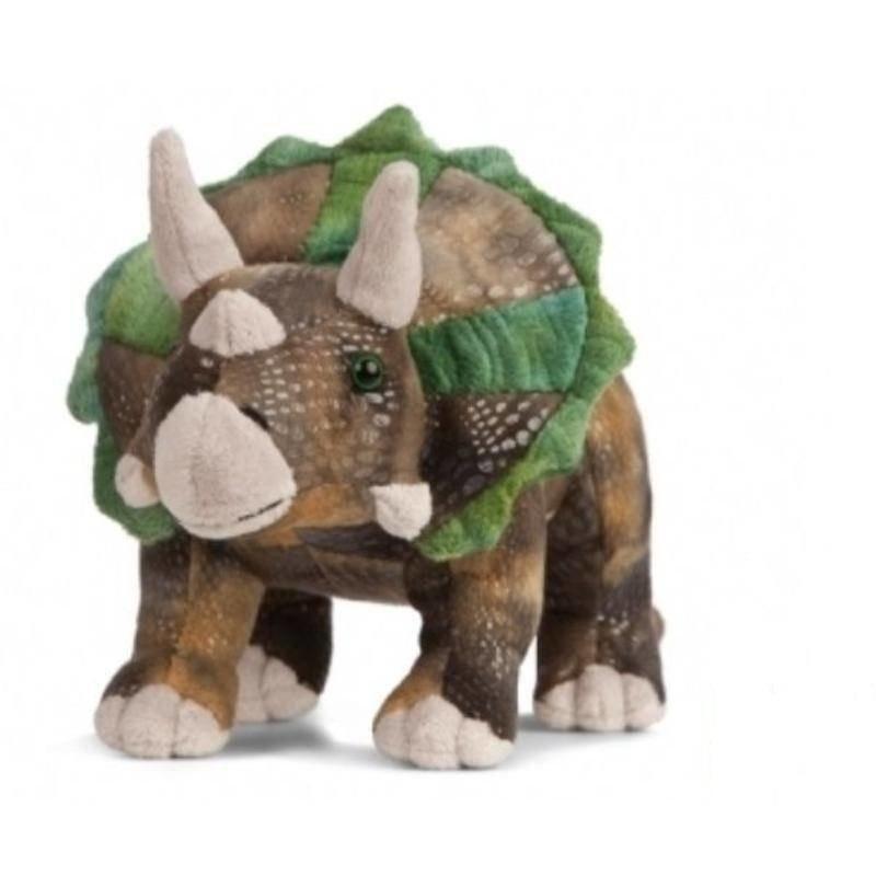 Pluche Triceratops dinosaurus knuffel 24 cm speelgoed