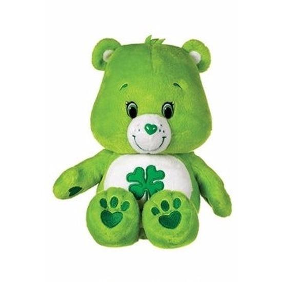 Pluche Troetelbeertje knuffel groen 22 cm