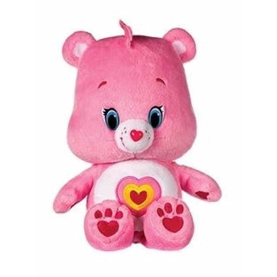 Pluche Troetelbeertje knuffel licht roze 22 cm