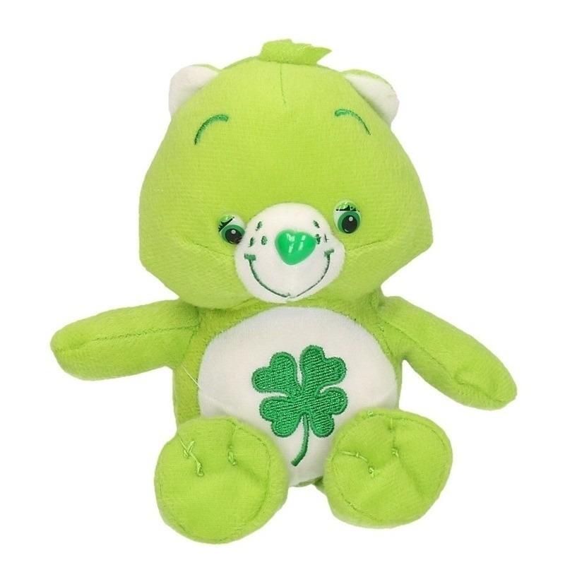 Pluche Troetelbeertjes knuffeltje groen 18 cm