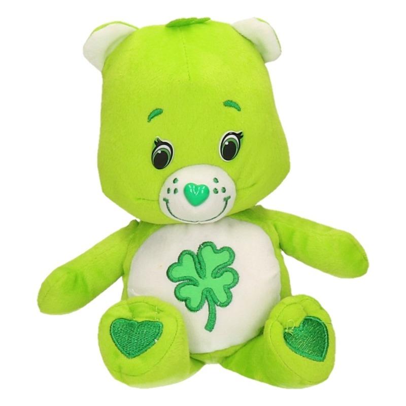Pluche Troetelbeertjes knuffeltje groen 24 cm