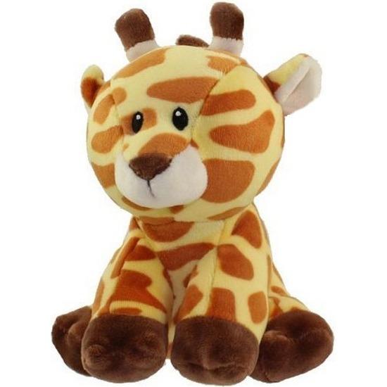 Pluche Ty Beanie giraffe knuffel Gracie 17 cm speelgoed