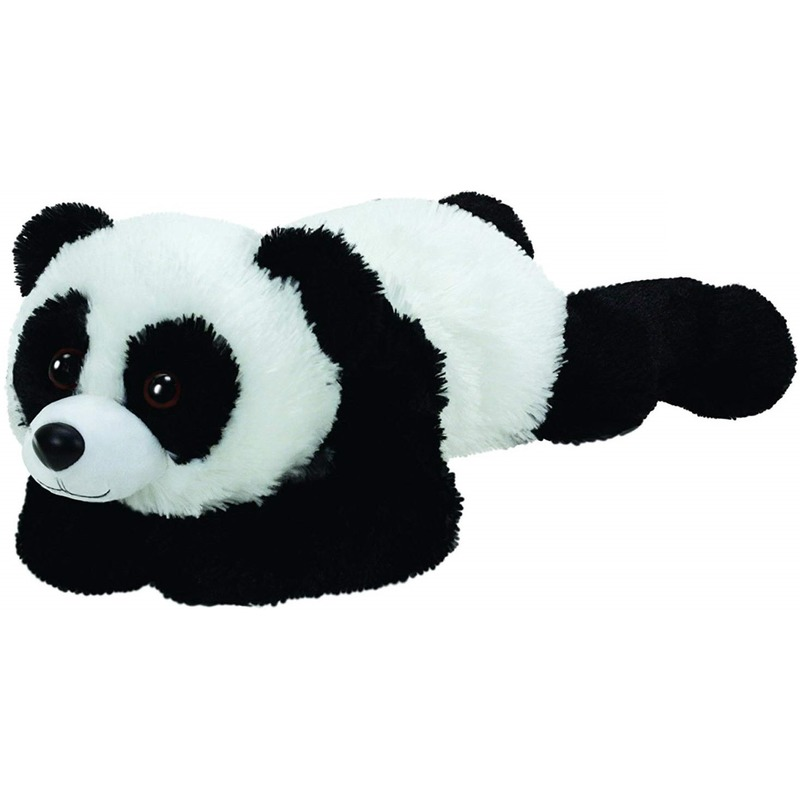 Pluche Ty Beanie pandabeer knuffel Paige 33 cm
