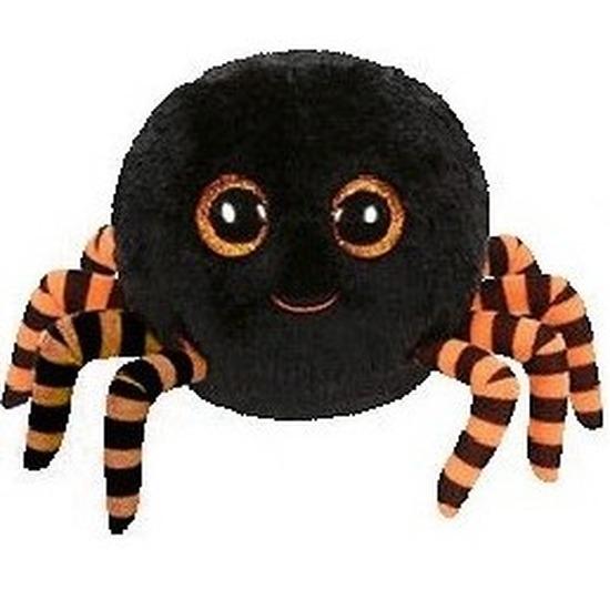 Pluche Ty Beanie zwart spin knuffel Crawly 15 cm speelgoed