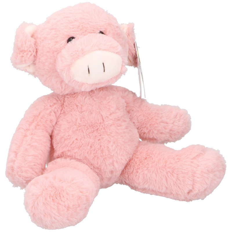Pluche varken/big knuffel 25 cm speelgoed