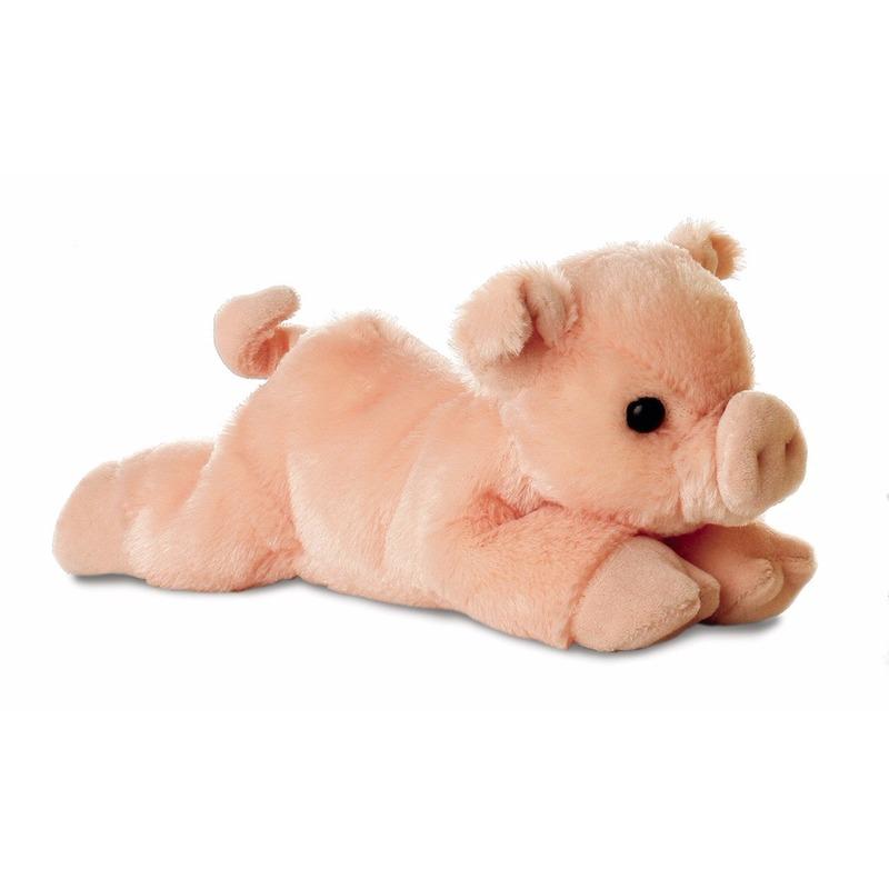 Pluche varkens/biggen knuffel 20 cm