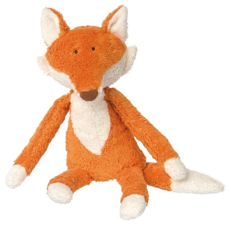 Pluche vos knuffel oranje 40 cm