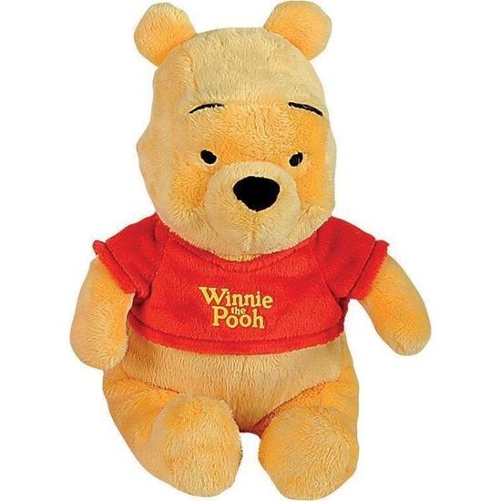 Pluche Winnie de Poeh knuffel 25 cm Disney speelgoed