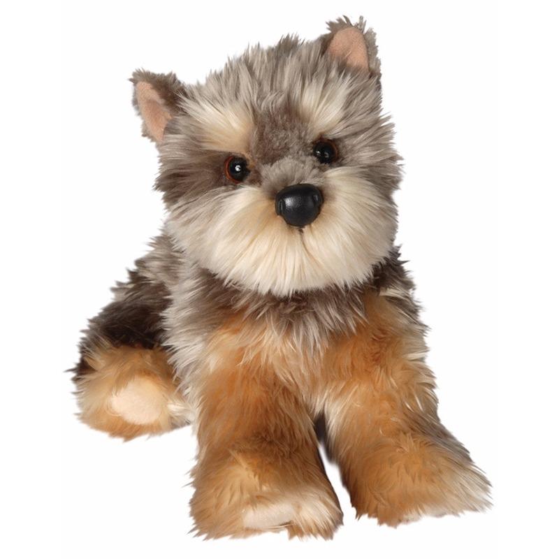 Pluche Yorkie hond knuffel 30 cm