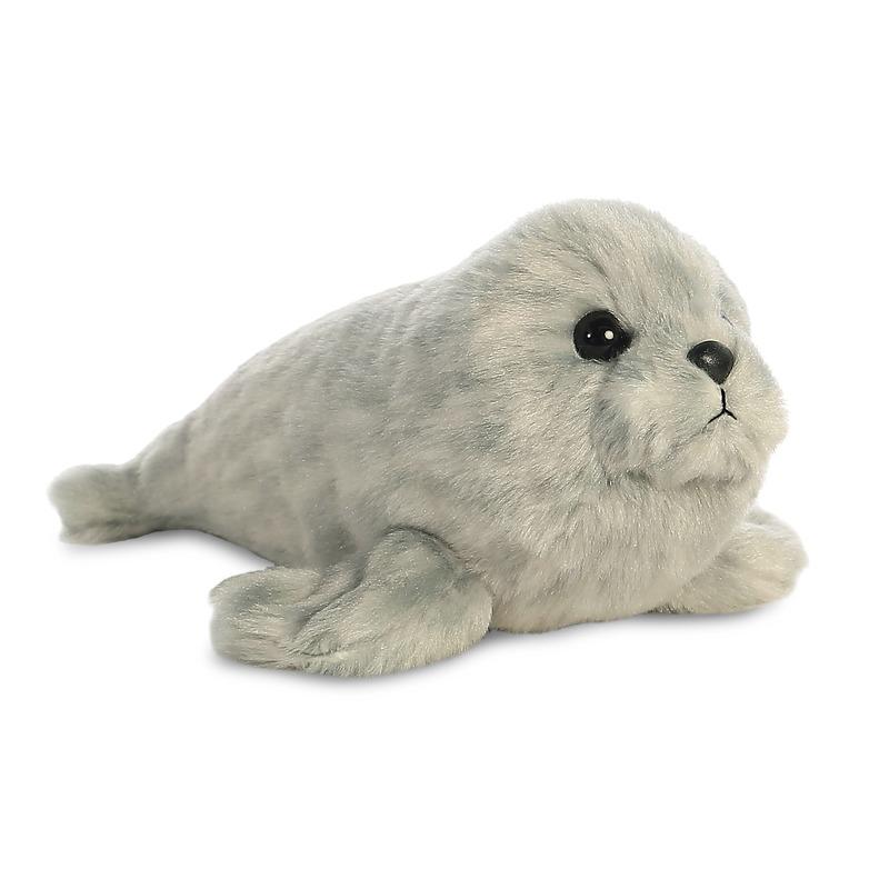 Pluche zeehonden knuffel 20 cm