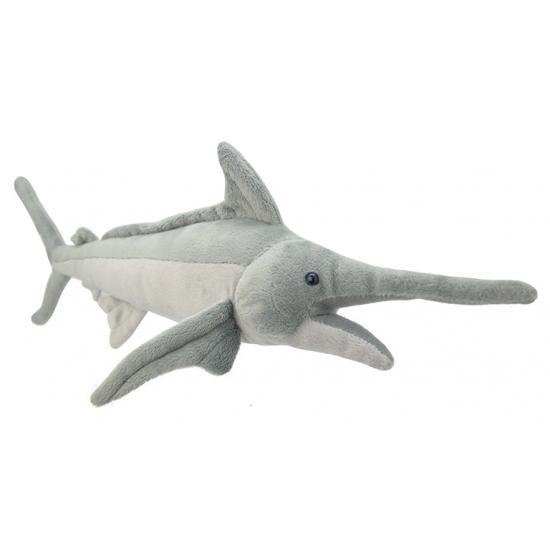 Pluche zwaardvis knuffel 50 cm